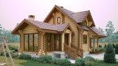 Самые красивые дома и коттеджи в России. Часть 2 - Деревянные коттеджи