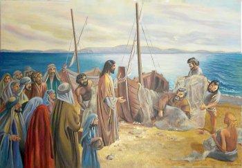 Картина на Библейскую тему. Художница Наталия