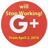 Google+ ПРЕКРАЩАЕТ РАБОТУ! С 2 апреля 2019 г.